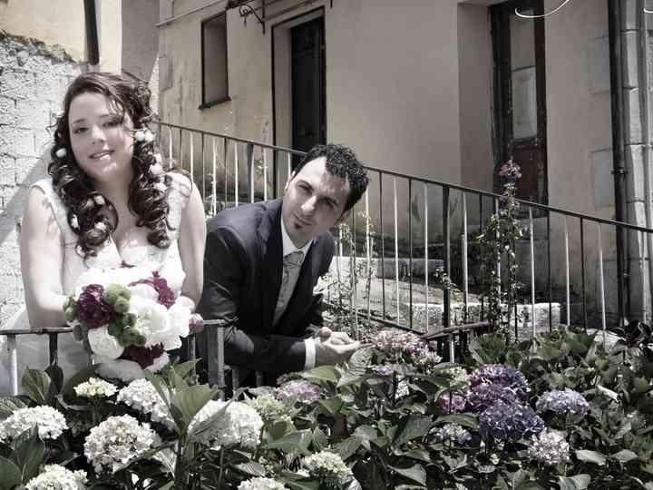 le nozze di Carolina e Stefano