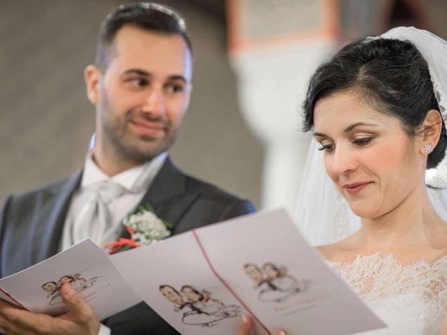 Il matrimonio di Marco e Valentina a Trescore Balneario, Bergamo 20