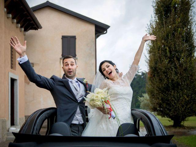 Il matrimonio di Marco e Valentina a Trescore Balneario, Bergamo 25