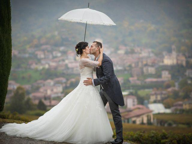 Il matrimonio di Marco e Valentina a Trescore Balneario, Bergamo 33