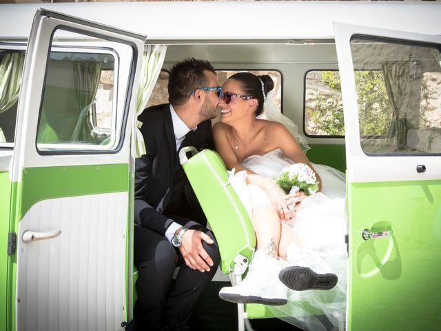le nozze di Cristina e Massimiliano