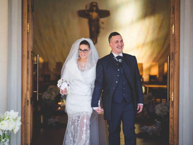 le nozze di Sheila e Matteo