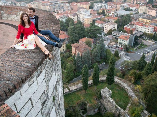 Il matrimonio di Oliviero e Ylenia a Provaglio d'Iseo, Brescia 2