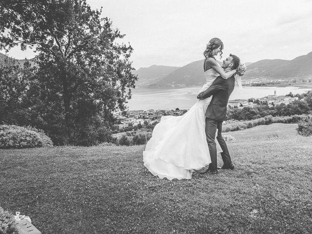 Il matrimonio di Oliviero e Ylenia a Provaglio d'Iseo, Brescia 79