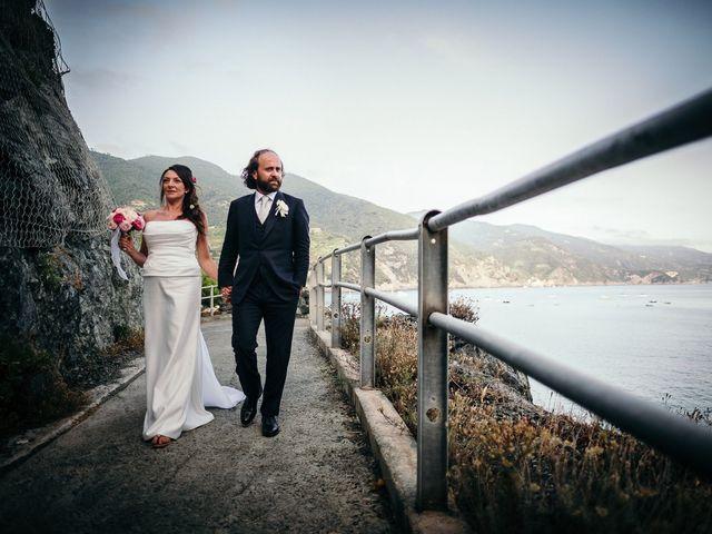 Il matrimonio di Massimo e Sara a Monterosso al Mare, La Spezia 90