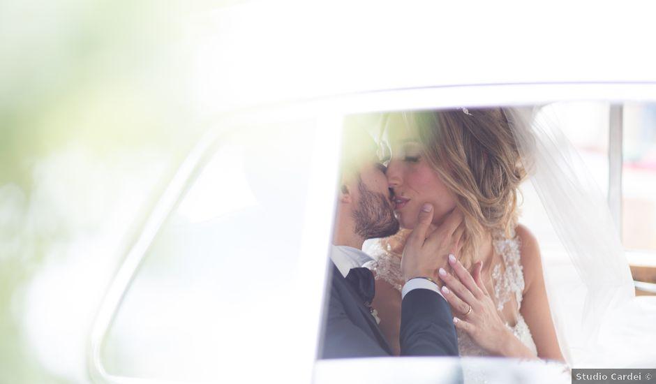 Il matrimonio di Gianluca e Valentina a Manziana, Roma