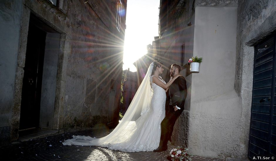 Il matrimonio di Maria Elisa e Alessandro a Sant'Oreste, Roma