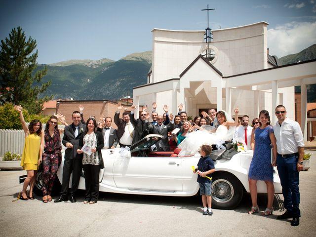 Il matrimonio di Luca e Fabrizia a Sulmona, L'Aquila 27