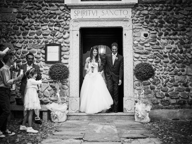 Il matrimonio di Mattia e Manuela a Comignago, Novara 18