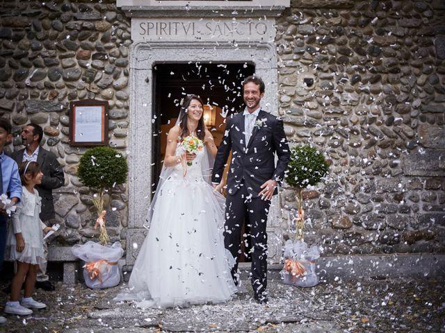 Il matrimonio di Mattia e Manuela a Comignago, Novara 20