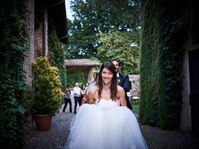 Il matrimonio di Mattia e Manuela a Comignago, Novara 38