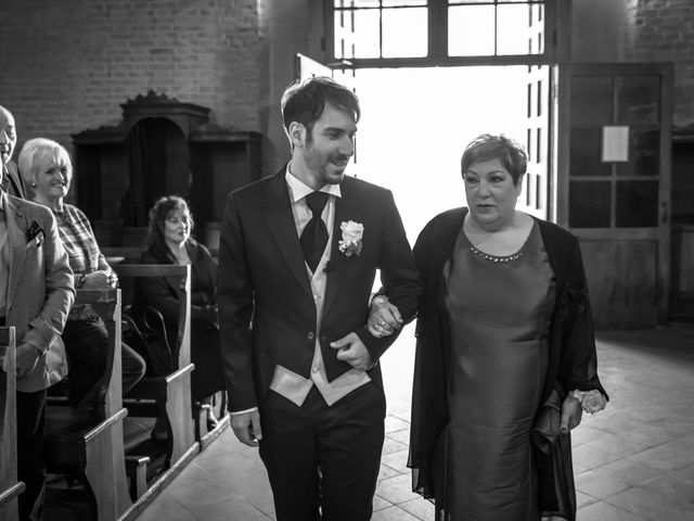 Il matrimonio di Alessandro e Francesca a Certaldo, Firenze 25