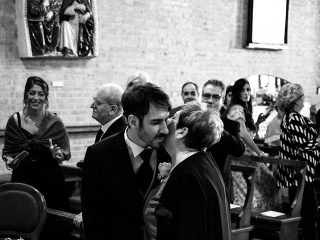 Il matrimonio di Alessandro e Francesca a Certaldo, Firenze 26