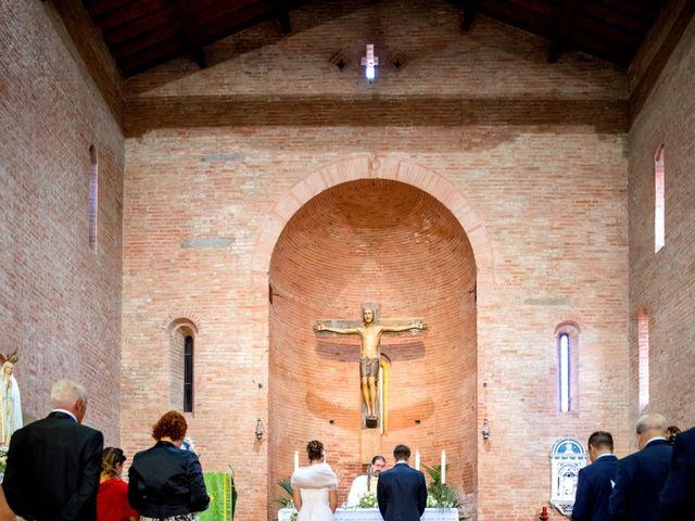 Il matrimonio di Alessandro e Francesca a Certaldo, Firenze 29