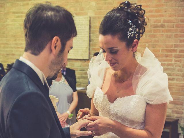 Il matrimonio di Alessandro e Francesca a Certaldo, Firenze 34