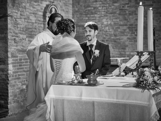 Il matrimonio di Alessandro e Francesca a Certaldo, Firenze 35