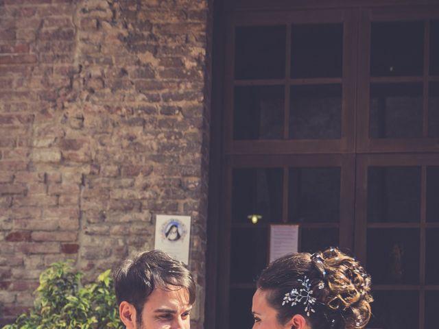 Il matrimonio di Alessandro e Francesca a Certaldo, Firenze 39