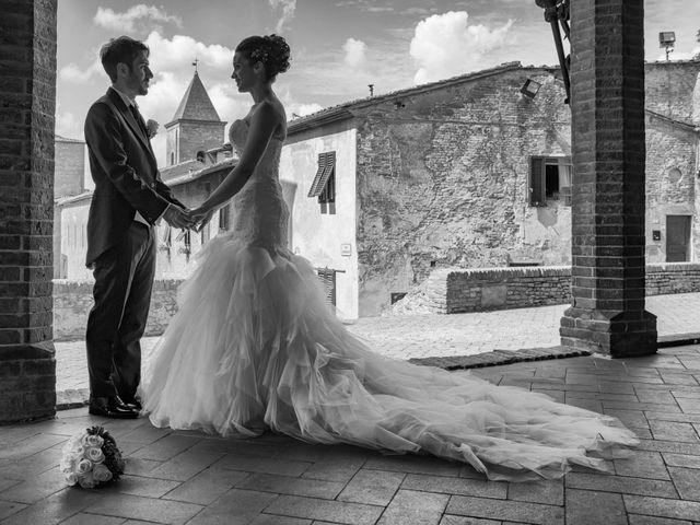 Il matrimonio di Alessandro e Francesca a Certaldo, Firenze 42