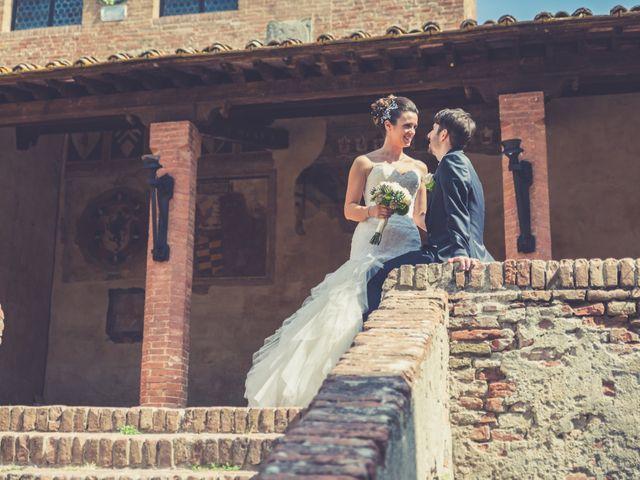 Il matrimonio di Alessandro e Francesca a Certaldo, Firenze 43