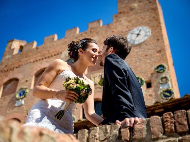 Il matrimonio di Alessandro e Francesca a Certaldo, Firenze 44