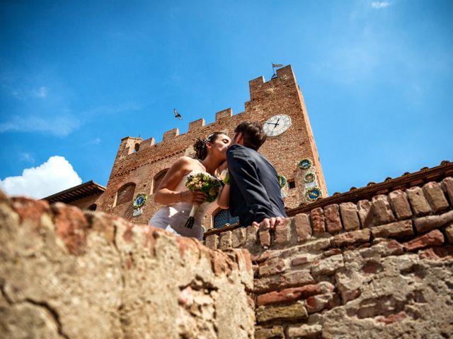 Il matrimonio di Alessandro e Francesca a Certaldo, Firenze 45