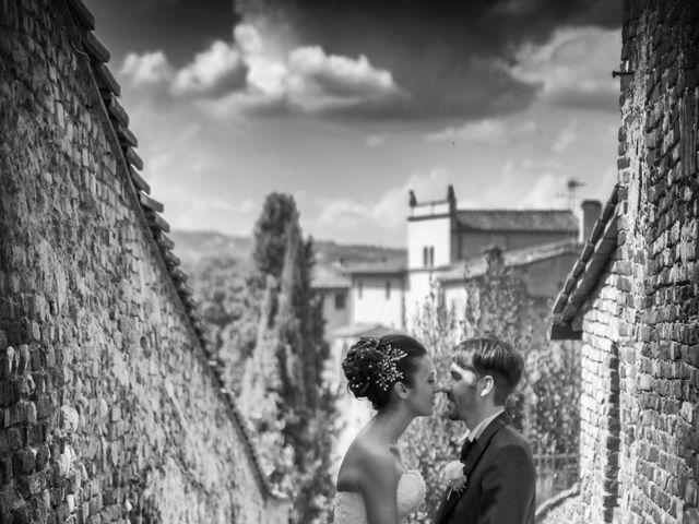 Il matrimonio di Alessandro e Francesca a Certaldo, Firenze 46
