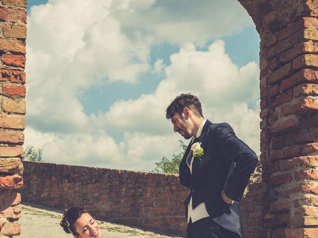 Il matrimonio di Alessandro e Francesca a Certaldo, Firenze 48