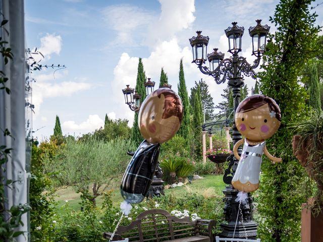 Il matrimonio di Alessandro e Francesca a Certaldo, Firenze 57