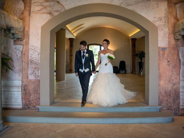 Il matrimonio di Alessandro e Francesca a Certaldo, Firenze 50