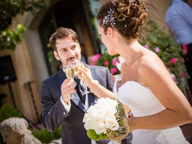 Il matrimonio di Alessandro e Francesca a Certaldo, Firenze 51