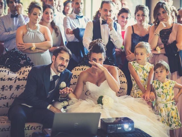 Il matrimonio di Alessandro e Francesca a Certaldo, Firenze 55