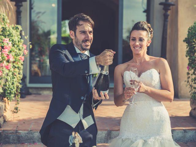 Il matrimonio di Alessandro e Francesca a Certaldo, Firenze 61
