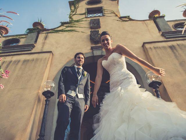 Il matrimonio di Alessandro e Francesca a Certaldo, Firenze 64