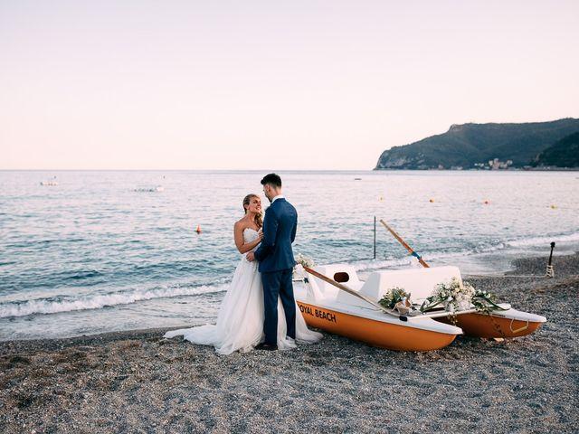 Il matrimonio di Jonathan e Vittoria a Spotorno, Savona 43
