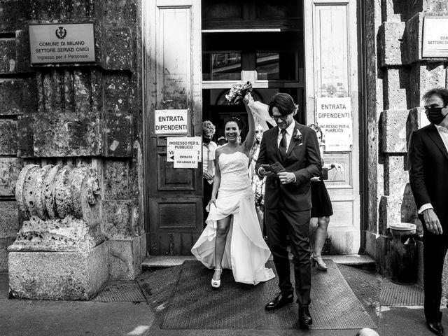 Il matrimonio di Adalberto e Laura a Milano, Milano 45