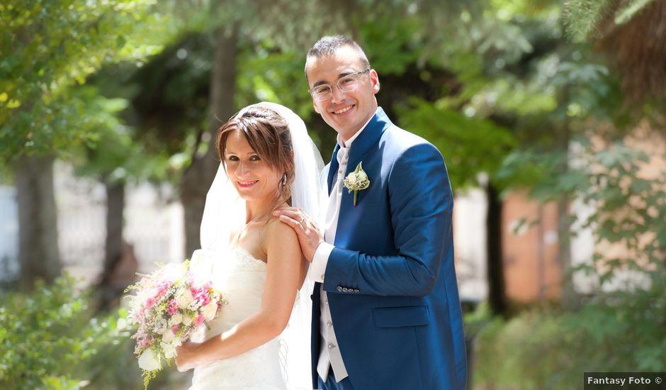 Il matrimonio di Luca e Fabrizia a Sulmona, L'Aquila