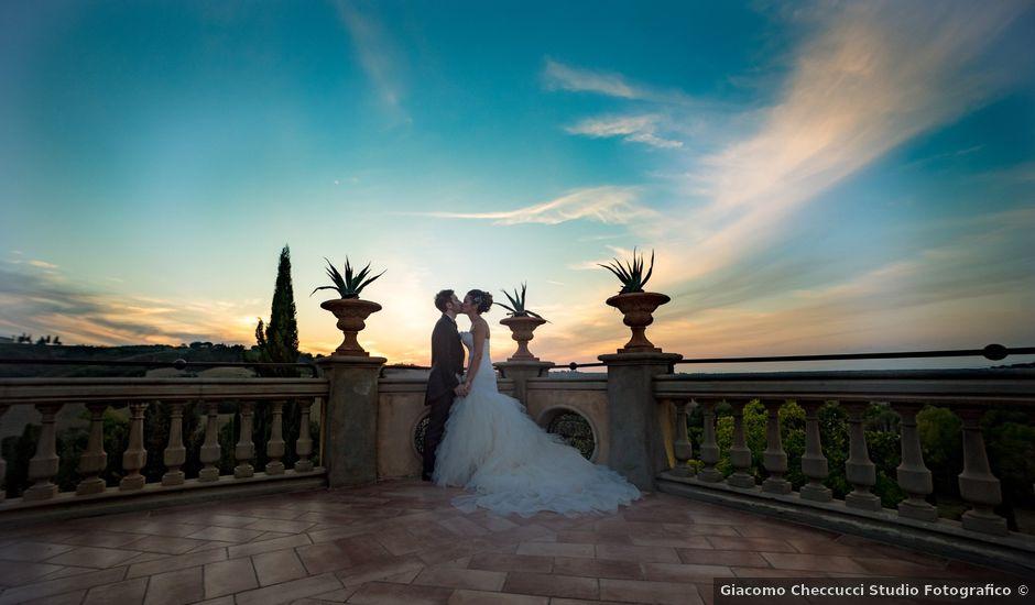 Il matrimonio di Alessandro e Francesca a Certaldo, Firenze