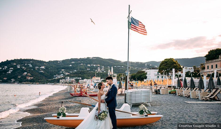 Il matrimonio di Jonathan e Vittoria a Spotorno, Savona