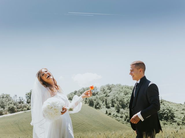 Il matrimonio di Andrea e Monica a Jesi, Ancona 86