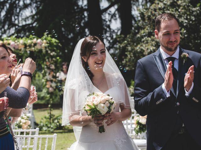 Il matrimonio di Mattia e Sara a Erba, Como 34
