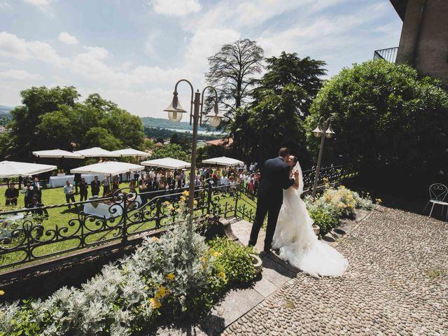Il matrimonio di Mattia e Sara a Erba, Como 38