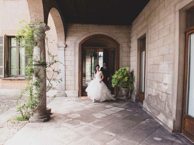 Il matrimonio di Mattia e Sara a Erba, Como 42