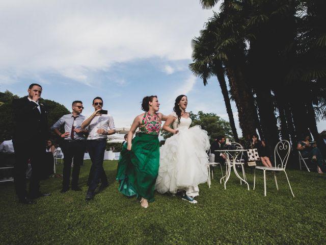Il matrimonio di Mattia e Sara a Erba, Como 61