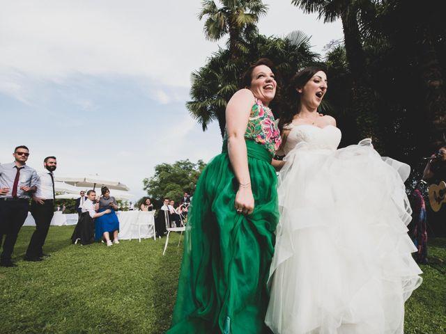 Il matrimonio di Mattia e Sara a Erba, Como 62