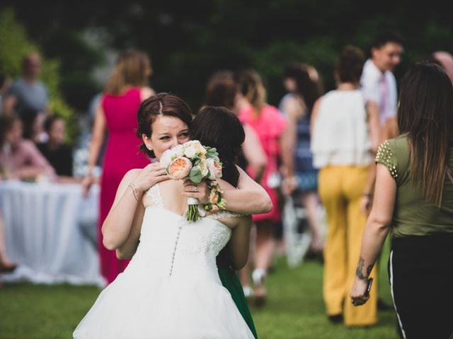 Il matrimonio di Mattia e Sara a Erba, Como 75