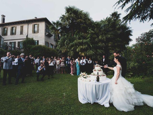 Il matrimonio di Mattia e Sara a Erba, Como 77