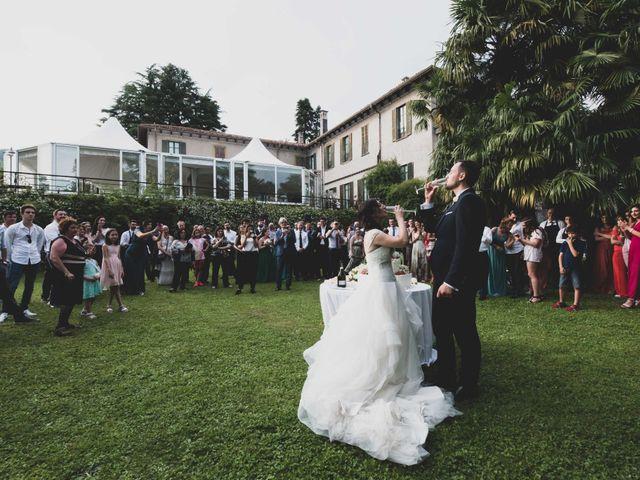 Il matrimonio di Mattia e Sara a Erba, Como 79