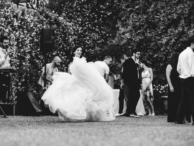 Il matrimonio di Mattia e Sara a Erba, Como 86