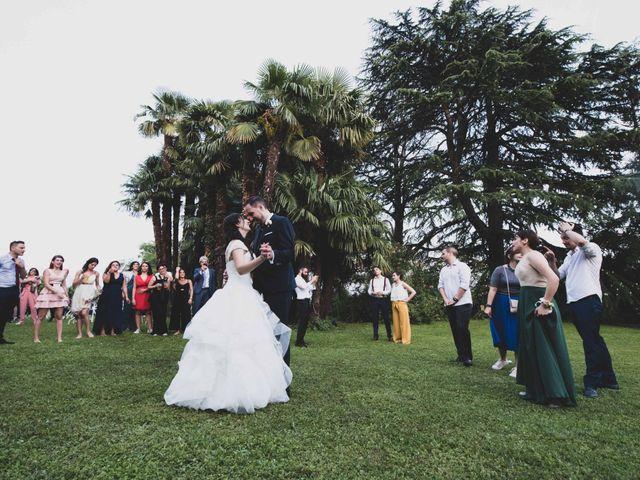 Il matrimonio di Mattia e Sara a Erba, Como 87