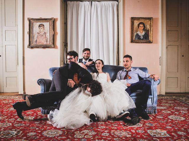 Il matrimonio di Mattia e Sara a Erba, Como 102